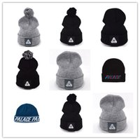 Wholesale Asap Beanie Hats - Top Selling New RARE Palace Skateboards beanie hat ian connor gosha Jay-z asap rocky winter beanie knitted skullies drake hats