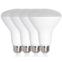 e27 luces de inundación al por mayor-Bombillas LED E27 E26 BR30 LED 7W 9W 12W Blanco puro Blanco cálido Bombilla de luz de inundación amplia Luz de plomo Luces de Navidad