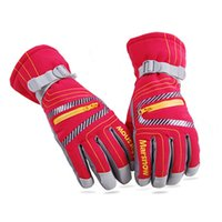 Wholesale Ski Gloves For Kids - Outdoor Sports Winter Ski Gloves Windproof Waterproof Skiing Gloves For Men Women and Kids Six Colors For Your Choice