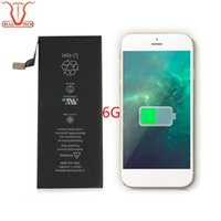 Wholesale Iphone Replacement Original - For iphone 6 Battery 6S ORIGINAL Built-in Internal Li-ion Battery Replacement 1810mah 1715mah Stable Flex Safe Package for IP 6 6s