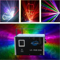 Wholesale Green Laser Machine - 3W Analog Modulation RGB with SD laser light LOGO advertising machine laser show projector laser light