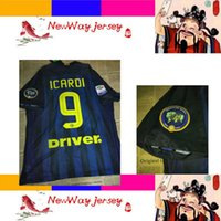 Wholesale Customized Rugby Jersey - 2017 CANDREVA EDER JOVETIC ICARDI player version jersey customize embroidery 109 arm patch