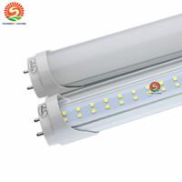 Wholesale Smd3528 Led Tube - Wholesale SMD3528 22W 28W 1.2m LED tube light fluorescent lamp T8 G13 85-265V 2500lm 1200MM 4 feet ft tubes warm cold white