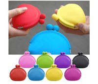Wholesale Coin Purses Pochi - best coin bag coin purse silicone money bag  puse Japanese style coin wallet POCHI