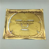 Wholesale Collagen For Skin - 24k Gold Bio-Collagen Facial Mask Crystal Collagen Gold Powder Facial Masks Peels Skin Care For Women Beauty