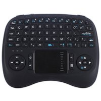 Wholesale Dhl Free Shipping Keyboard - 2017 Updated Version iPazzPort Mini Wireless Gaming Keyboard with Backlit and Touchpad for Android TV Box HTPC KP-810-21TL Free DHL Shipping