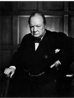 black and white painting portraits - Winston Churchill Cane Black And White genuine Pure Handpainted Leader Portrait Art oil Painting On Thick Canvas Multi Size wagn