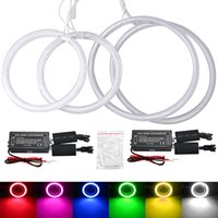 LEEWA Car CCFL Halo Rings Angel Eyes Phares LED pour Chrysler Concorde (02 ~ 04) 6-Color # 2001