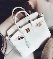 Wholesale Ladies Messenger Satchel - Wholesale-2015 New Arrival Leather Women Shoulder Bag Women Brand Lock Handbags Elegant Ladies Handbag Women Luxury Messenger Bags