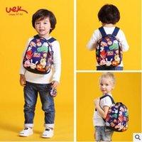 Wholesale Animal Zoo Backpacks - School Bag Kids Cartoon Zoo Story Waterproof Backpack Kindergarten Girls Boys Schoolbag Neoprene Kids Animal Pattern School Bag 2 Sizes
