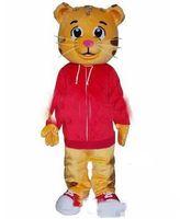 Wholesale Tiger Mascot Costume Sale - Sell Like Hot sale Cakes Daniel Tiger Mascot Costume Daniel Tiger Fur Mascot Costumes