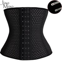 Wholesale gothic clothing wholesale - Wholesale- Jiao Miao Plus Size Gothic Clothing Underbust Bustier Slimming Body Shapers Shapewear Steel Boned Waist Cincher Trainer Corset