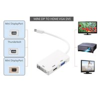 HMDI Konverter Mini Display Port Thunderbolt auf DVI VGA HDMI 3 in 1 Konverter Adapter