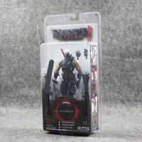 Wholesale Ryu Hayabusa - 18cm Ninja Gaiden Ryu Hayabusa PVC Action Figure Collectable Model Toy for kids gift free shipping retail