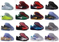 Wholesale Elite Football Boots - Men Kobe 11 EM Mamba Day Basketball Shoes KB XI ZK11 AEC Low Cut Mush Elite Athletic Sports Shoes Boots 865773-991 Black Gold Sneakers