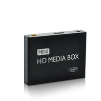 Wholesale Rm Video Player - Wholesale- Mini HD HDMI Media Player 1080P Full HD TV Video multimedia player box support HDD MKV RM-SD USB SDHC MMC