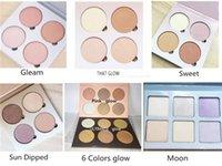 Wholesale Makeup Cosmetic Blush Blusher - 2016 Pink Glow Kit ULTIMATE GLOW kit Makeup Face Blush Powder Blusher Palette Cosmetic Gleam That Glow Sun Dipped Sweets ULTIMATE GLOW Moon