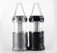 Wholesale Wall Tents - Collapsible 30 LED Lanterns Led Lawn Garden Lamp Path Wall Light Super Bright Outdoor Camping Tents Light KKA3020