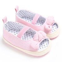 lindas niñas mariposas al por mayor-Sandalias de bebé Niñas Color sólido Zapatos lindos Niños Niña Mariposa sandalias de bebé para niño Skidproof S