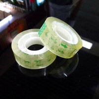 transparent tape office and school stationery adhesive tapes packing tape width 1.8 cm, 30m length