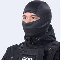 bicicleta de protección facial al por mayor-Máscara de cara completa de Balaclava Tactical Motorcycle Bicycle Helmet Protection