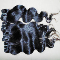Wholesale Forever 12 - Wonderful Shopper Last Minute Cheapest processed Peruvian wavy Human Hair 6 bundles Weaving forever new
