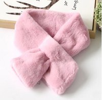 Wholesale Rex Lace - New arrival lady genuine rex rabbit fur scarf double faced muffler fashion collar seamless patchwork scarf female fur Thicken Muffler Super