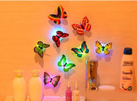 Wholesale LED Nightlight butterfly appearance and dragonfly appearance of mixed colors landscaping furniture and walls to protect the eye Nightlight