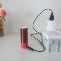 Wholesale Small Tesla coil power wireless transmission