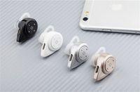 Wholesale Double Movement - Mini A9 Bluebird Wireless Bluetooth Headset 4.0 Hanging Ear Miniature Movement Stereo Binaural CSR double noise reduction