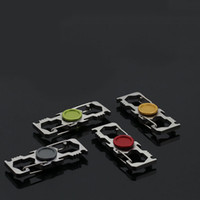 Wholesale Spin Bottle - Multi Function Fidget Spinner Hand Spinner Climbing Buckle Spinning Top Key Chain Finger Toy With Bottle Opener Wholesale 3003147