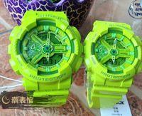 Wholesale Man Water Resistance Watch - New Color G110 men sports watch Water resistance Swim LED Watches Auto Light shocked G 100 wristwatch Original Box Hombre