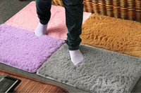 Wholesale Shaggy Bathroom Mats - Wholesale- New thicken & SHAGGY super soft carpet   floor rug   area rug   slip-resistant bath mat kids rug for living room