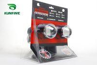 xenon projektör ışığı toptan satış-12 V / 35 W Araba HID Hen Xenon Projektör Lens Sis Lambası HID Ampul 6000 K Sis Far için araba far