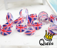 Wholesale Rings Uk Flag - wholesale 500 Pcs Lot Mix New Party Gift Bag Fit UK flag Kid Resin Rings Children Lovely Present #3