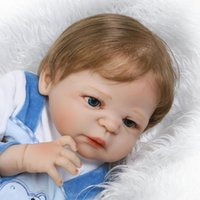 Silicone Reborn Baby Dolls Full Body Girls 58CM / 23 Inch Genre Vinyle Realistic Doll Baby Alive Dolls Playmate Juguetes Brinquedos