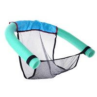 Wholesale water floating beds online - Portable Water Swimming Pool Seats Multi Colors Pool Floating Bed Chair Pool Chair Water Supplies for Adults Children