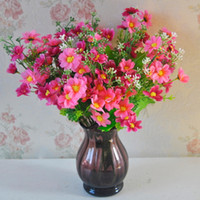 ingrosso piccoli fiori decorativi-Fiori artificiali Seta Oncidium Orchidea Fiore Piccolo fiore Soggiorno Decorazione floreale Seta Capolini Decorazioni Matrimonio Decorativo