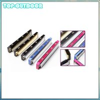 Wholesale Harmonica C 24 Holes - Wholesale- Hot Sale Polyphony Harmonica Mouth Organ 24 Double Holes with 48 Reeds Key of C Free Reed Wind Instrument with Metal Case