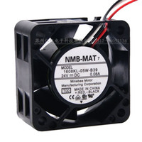 Wholesale fan nmb 24v wire for sale - Group buy 100 new original NMB MAT KL W B39 A V three wire converter fan