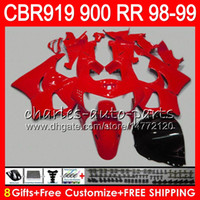 Wholesale 99 cbr fairing kit for sale - Group buy Body For HONDA CBR RR CBR900RR CBR919RR CBR RR TOP ALL Red NO19 CBR919 RR CBR900 RR CBR RR Fairing kit Gifts