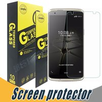 Wholesale Screen Protector For Zte Grand - Tempered Glass For ZTE Warp 7 Screen Protector Explosion Shatter 9H 2.5D For ZTE Zmax 2 Grand X3 Z667 Warp Elite Maven Zephyr Z820 Q505T