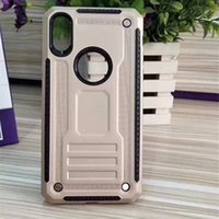Wholesale Galaxy Note Ballistic Cases - Hybrid Armor Case For iphone 8 7 plus 6 plus For Samsung Galaxy Note 8 Rugged Ballistic Shockproof Hard PC+Soft TPU Covers D