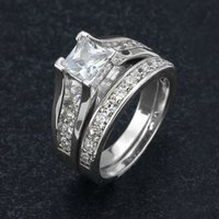 Wholesale Cheap Rhodium Plated Rings - high quality fashion 2017 copper ring rhodium plating hot models and exaggerated ring for women cheap price wholesale