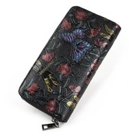 Wholesale Quality Photo Prints - women wallets luxury brand new arrival high quality long wallets designer purse and card wallets black color