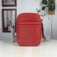 Wholesale Interiors Designs - Hot Fashion design shoulder bag ladies tassel Litchi profile women messenger bags 100% genuine leather bag