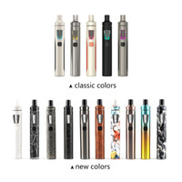 Wholesale E Cigarette Leak - electronic cigarettes Authentic Joyetech Ego Aio Kit 1500mah Ego Aio Battery 2ml Anti leaking Tank All In One E Cig Starter Kit