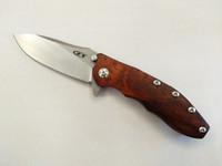 satin en bois achat en gros de-Zero Tolerance Hinderer 0562 Flipper 3.5