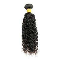 Wholesale kinky hair weave styles - 4 Bundle Mongolian Kinky Curly Virgin Hair Unprocessed Human Hair Weave Afro Jerry Curly Fashion Style Brazilian Indian Hair