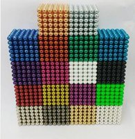 Wholesale Cool Relaxing - Magnetic ball 5mm buckyballs for Adult Relax de-stress Cool Toys Magic Cube for Gift and Puzzle